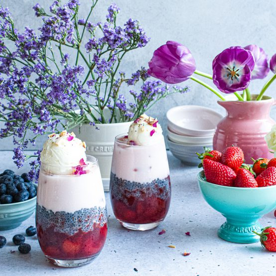 Floral Berry Falooda