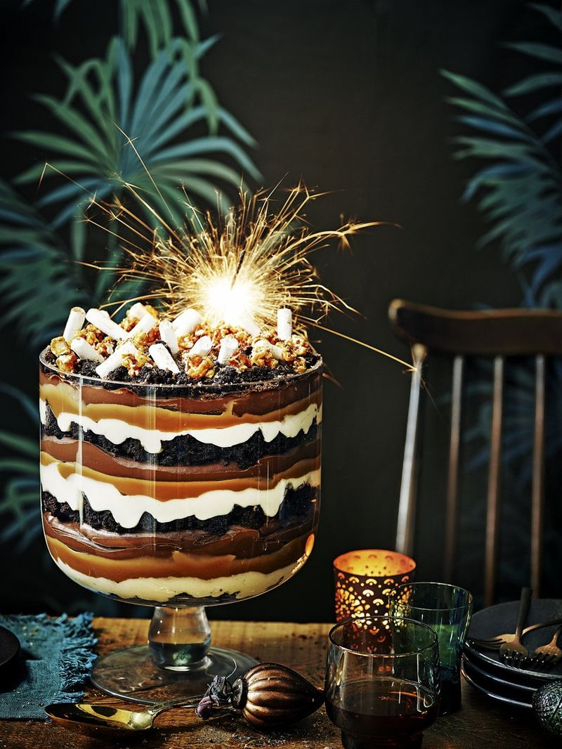 11th Recipe of Christmas - Epic chocolate trifle